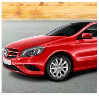 Win: Mercedes A klasse